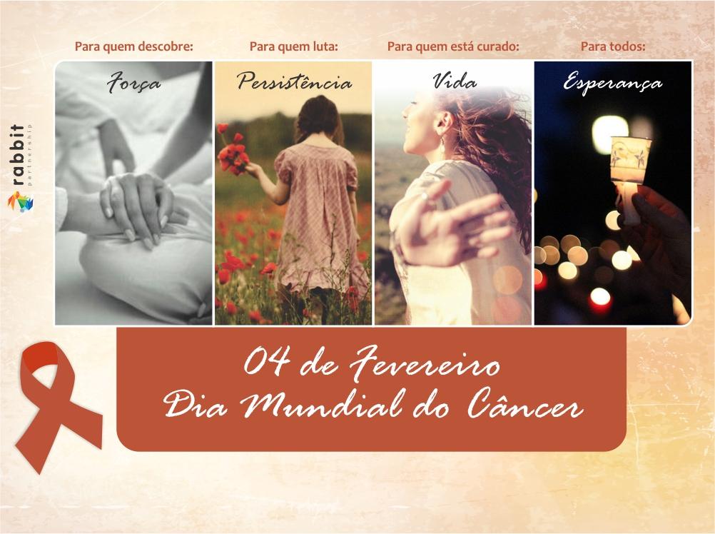 04 de fevereiro – Dia Mundial do Câncer