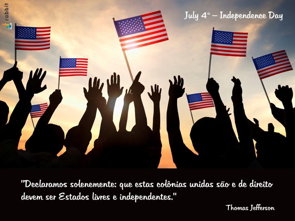 04 de Julho – Independence Day