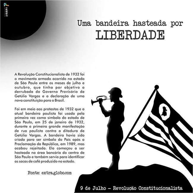 09 de julho – Revolução Constitucionalista