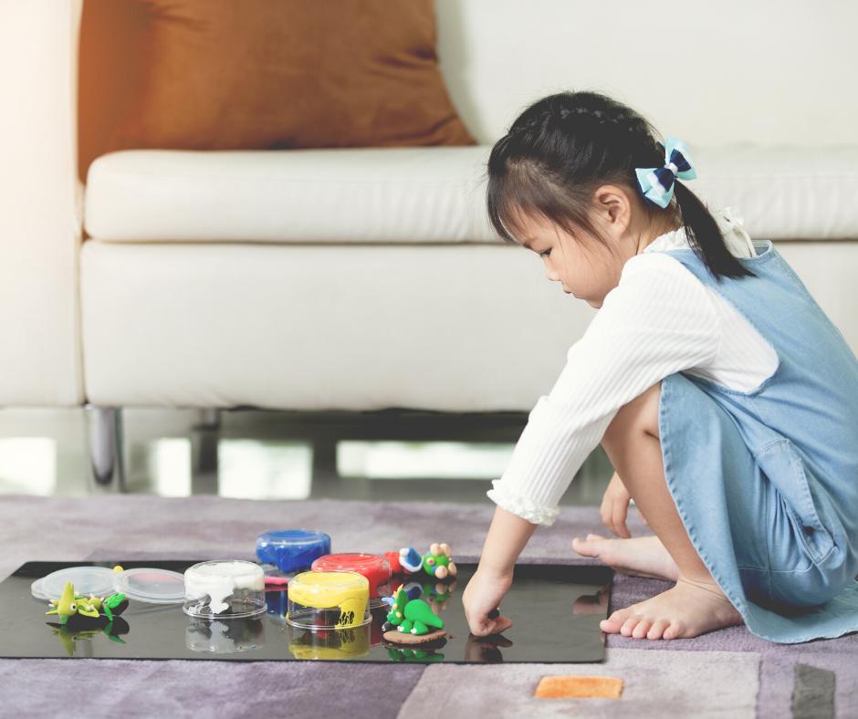 Você deixa seu filho brincar sozinho?